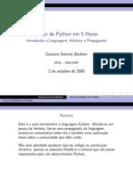 aula-01 - Curso de Python em 5 Horas
