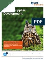 POP Supplier Development