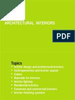 Intérieurs architecturaux