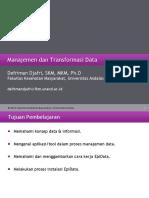 P1_S1_Manajemen Dan Transformasi Data Membangun E-questionnaire Dengan EpiData