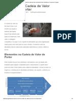 O Modelo de Cadeia de Valor de Michael Porter _ Gestão Por Processos e Projetos