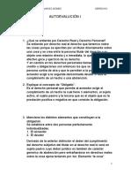 Derecho Romano 2 Autoevalución i