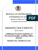 BidDocs IB No I-2015-01 PSAO Maasin Southern Leyte