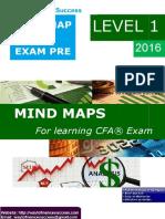 FREE MIND MAPS LEVEL 1- 2016 (CFA EXAM PRE)