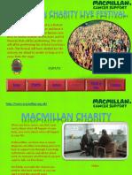 macmillan charity powerpoint