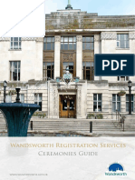 Wandsworth Ceremonies Guide