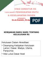PRESENTASI DIREKTUR TENTANG PMKP DAN MDGs DR SUTOTO.pptx