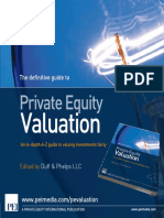 Private Equity Valuation - Brochure