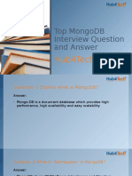 Top MongoDB Interview Question and Answer
