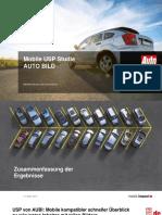 Mobile USP-Studie AUTO BILD