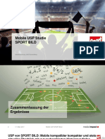 Mobile USP-Studie SPORT BILD