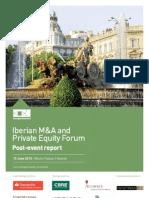 Iberian Forum Post-event Report 2010