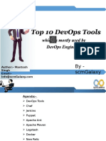 Top 10 DevOps Tools which is mostly used by DevOps Engineers