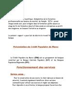 Rapport de Stage Banque Popilaire - Copie
