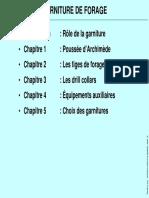 Garniture de Forage Archimède 1