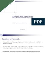 Petroleum Economics 1