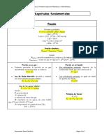 Tema 1. Formulario básico de Neumática y Oleohidráulica