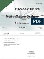 34 VOR Marker System