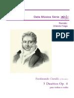 Carulli Violin o Viola Oop 4