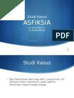 Studi Kasus Asfiksia Neonatus
