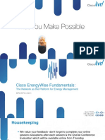Cisco EnergyWise Fundamentals_ BRKSPG-2401