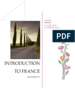 Introduction To francee