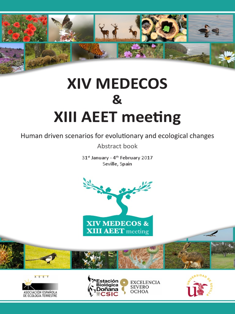 Abstract Book Xiv Medecos & Xiii Aeet Meeting | Ecology | Evolution