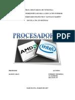 Procesadores CISC, RISC y ARM.