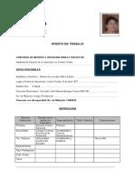 61335815 Formulario de Oferta de Trabajo CNT EP