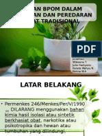 BPOM obat tradisional