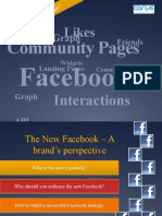 The New Facebook - A Brand's Perspective