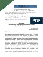 """""""Los de Garín"""". Aspectos Nacionales y Locales de La Presentación"""