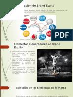 Creacion de Brand Equity