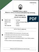 2012 Jan Clb10904 Chemical Process Principles