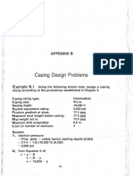 Casing Problems and Tables