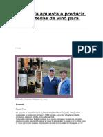 Vinos Bolivia