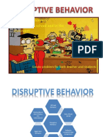 disruptive behavior