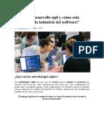 Qué Es El Desarrollo Ágil y Cómo Está Cambiando La Industria Del Software