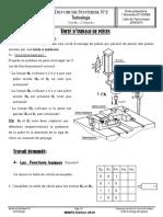Devoir de Synthèse N°2 - Technologie - 1ère AS  (2009-2010)  Mme Toumi Imen Système Unité d'usinage de pièces (1)