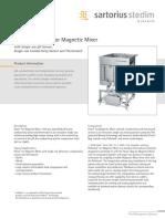 Data Standard Flexel for MagneticMixer With Single-use PH-Sensor SPT2025-e
