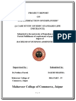 316309521-job-satisfaction-of-employees-of-Hdfc.doc
