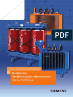 Drehstrom-Verteilungstransformatoren 50 Bis 2500kVA-TechnischeErlaeuterungen