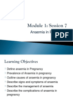 5.1.7 Anaemia in Pregnancy - Mauwa