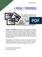 Control Social y Veedurias Ciudadanas