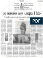 Giorgio Montefoschi su Carlo Cassola - Corriere della Sera 2003