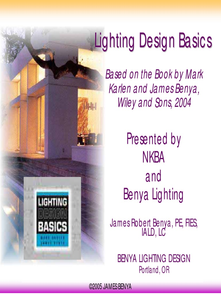 Lighting Design Basics.pdf   Lighting   Fluorescent Lamp