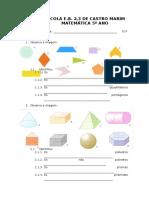 1º Ministeste - Solidos Geometricos