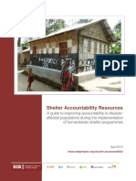 Shelter Accountability Resources