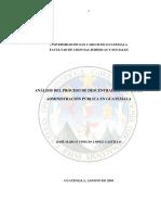 ANÁLISIS DEL PROCESO DE DESCENTRALIZACIÓN DE LA ADMINISTRACIÓN PÚBLICA EN GUATEMALA.pdf