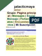 Intergalactic Maya
